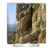 Guadalupe Peak Trail Shower Curtain