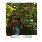 Guadalupe River 2am-115627 Shower Curtain