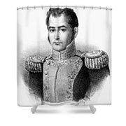 Guadalupe Victoria (1789-1843) Shower Curtain