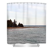 Guard On The Point Shower Curtain