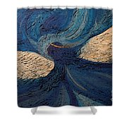 Guardian Angel By Jrr Shower Curtain