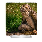 Guardian Angel Shower Curtain by Jean Noren