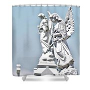 Guardian Angels 2 Shower Curtain