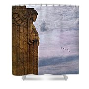 Guardian Of Hope Shower Curtain