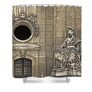 Guardians At The Gate - 2 Shower Curtain