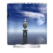 Guardians Of The Earth Shower Curtain