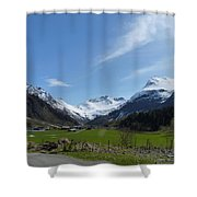 Guards Of Peace Shower Curtain