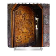 Guatemala Door 1 Shower Curtain