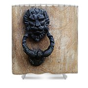 Guatemala Door Decor 2 Shower Curtain