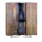 Guatemala Door Decor 4 Shower Curtain