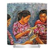 Guatemala Impression IIi Shower Curtain