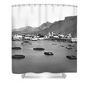 Guaymas Harbor Shower Curtain