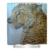 Guepard Shower Curtain