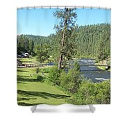 Guest Ranch Shower Curtain