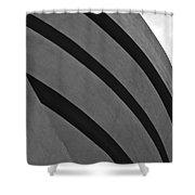 Guggenheim Exterior Shower Curtain