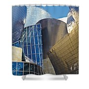 Guggenheim Museum Exterior Shower Curtain