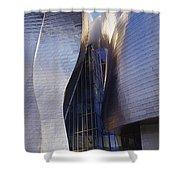 Guggenheim Museum Exterior Shower Curtain