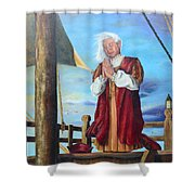 Guided By Divine Power Shower Curtain