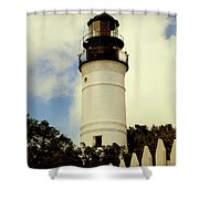 Guiding Light Of Key West Shower Curtain