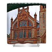 Guildhall In Londonderry Northern Ireland Shower Curtain