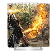 Guildscorn Ward Shower Curtain by Ryan Barger