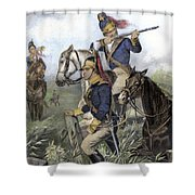 Guilford Courthouse, 1781 Shower Curtain