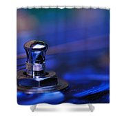 Guitar Abstract 6 Shower Curtain