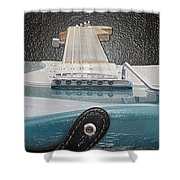 Guitar Art Shower Curtain