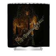 Guitar In The Zone Shower Curtain