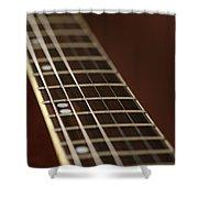 Guitar Neck Shower Curtain