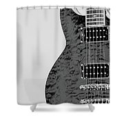 Guitar Pic 2 Shower Curtain