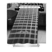Guitar View Shower Curtain