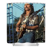 Guitarist Dickie Betts Shower Curtain