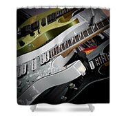 Guitars For Play Shower Curtain