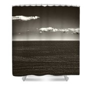 Gulf Of St Lawrence With Clouds Shower Curtain