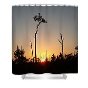 Gulf Shores Sunset Shower Curtain