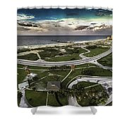 Gulf State Park And Pier Shower Curtain