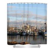 Gulfport Marine Shower Curtain