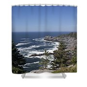 Gull Rock And Burnt Head Shower Curtain