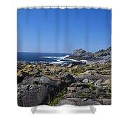 Gull Rock Shower Curtain