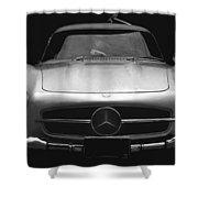 Gullwing Mercedes Shower Curtain