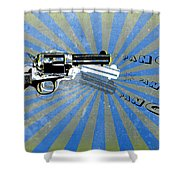 Gun 17 Shower Curtain