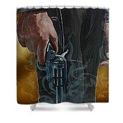 Gunfighter Shower Curtain