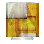 Gunman Shower Curtain by Edward Fielding