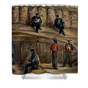 Gunners Of The Royal Regiment Shower Curtain