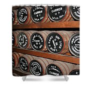 Gunpowder Depot Shower Curtain