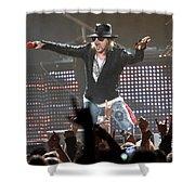 Guns N' Roses Shower Curtain