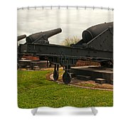 Guns Of Freedom Shower Curtain