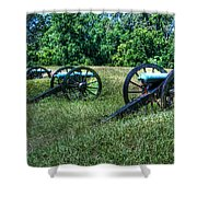 Guns Of Vicksburg Shower Curtain