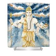 Guru Jupiter Shower Curtain